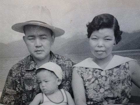 建民と洋子ママ